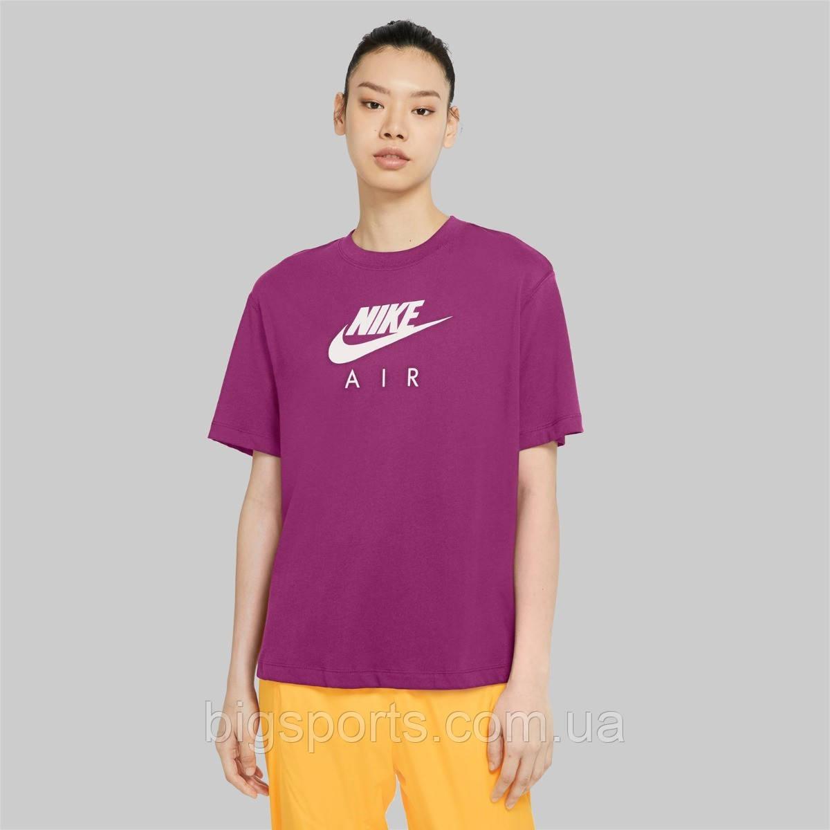 Футболка дружин. Nike Air women's Short Sleeve Top (арт. CU5558-564)