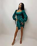 Платье женское из шёлка, фото 4