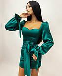 Платье женское из шёлка, фото 2
