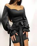 Платье женское из шёлка, фото 10