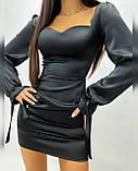 Платье женское из шёлка, фото 7