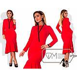 Платье повседневное очень стильное и красивое разных цветов, р.42;44;46;48;50;52;54 Код 570Д, фото 3