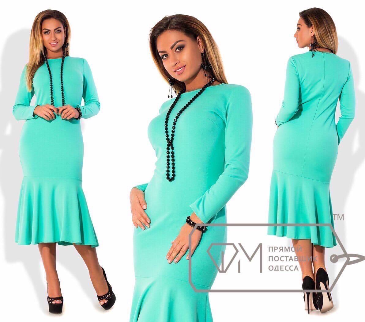 Платье повседневное очень стильное и красивое разных цветов, р.42;44;46;48;50;52;54 Код 570Д