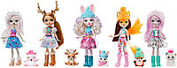 Набор Энчантималс Снежный день с друзьями набор 5 кукол и питомцы GXB20 Enchantimals Snowy Valley, фото 1