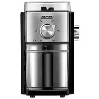 Жерновая кофемолка MPM MMK08 | Кавомолка 1500Вт 80г/хв, 17-рівневе регулювання