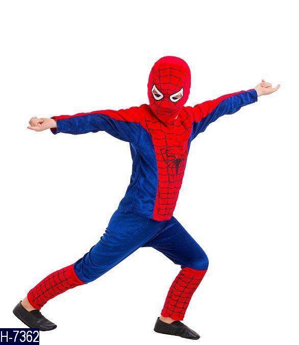 Карнавальный костюм Человек Паук в красном H-7362 (256-7362)