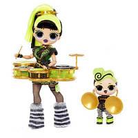 Кукла ЛОЛ ОМГ Зеленка Оригинал L.O.L. Surprise! OMG Bhad Gurl & Bhaddie
