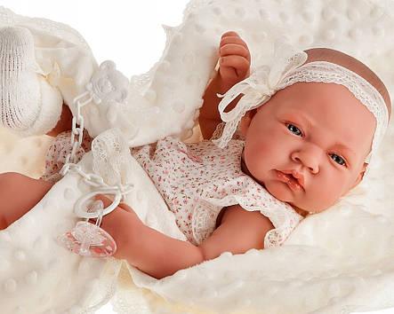 Лялька немовля Nacida Mantita Juan Antonio 5044, фото 2