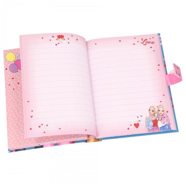 TOP Model щоденник на кодовому замку і з музикою LOVE ТОП Модел by Depesche 11125_A (TOP Model дневник с кодом и музыкой топ моделk. любовь)