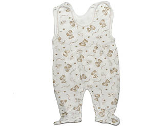 Ползунки для новорожденных высокие с начесом для мальчика или девочки