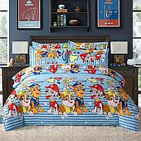 Детский комплект постельного белья 150*220 хлопок (15392) TM KRISPOL Украина