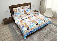 Детский комплект постельного белья 150*220 хлопок (15453) TM KRISPOL Украина