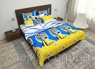 Дитячий комплект постільної білизни 150*220 бавовна (15463) TM KRISPOL Україна