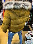 Куртка - Мужскоая куртка MONCLER горчичная, фото 3