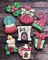 Новогодние имбирное печенья