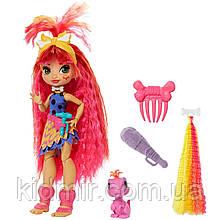 Кукла Пещерный клуб Эмберли с прядью и питомец Флэр Cave Club Emberly GNM08