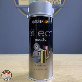 Краска (эмаль) с эффектом металлик Motip Deco Effect Metallic, 400 мл Аэрозоль Серебристый бриллиант