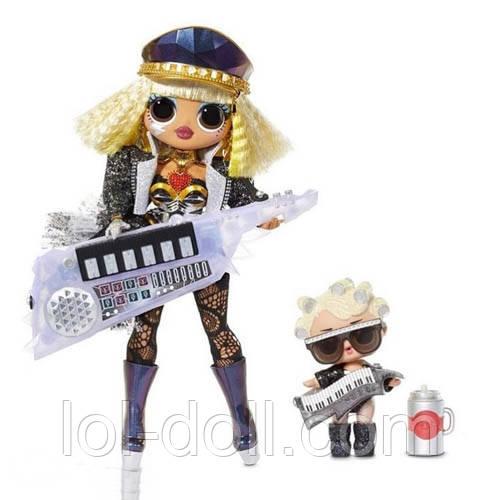 Кукла ЛОЛ ОМГ Танцующая Оригинал L.O.L. Surprise! OMG Fame Queen & Goo-Goo Queen