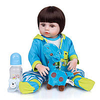 Кукла реборн 48 см полностью виниловый мальчик Руслан