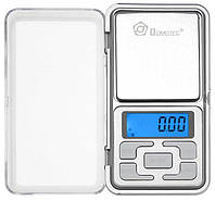 Карманные ювелирные электронные весы Domotec 1724A 100 гр/0,01гр (2073)
