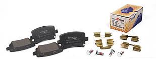 Тормозные колодки задние без датчика (105.3х55.9х17.1mm) VW Caddy (6980.01) AUTOTECHTEILE (Германия) 369 8001