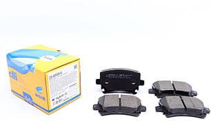 Колодки тормозные (задние) VW Caddy/Golf/Passat/Audi A4/A6 03- METELLI (Италия) 22-0553-0