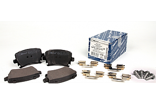 Колодки тормозные задние VW Caddy 03- MEYLE (Германия) 025 239 1417