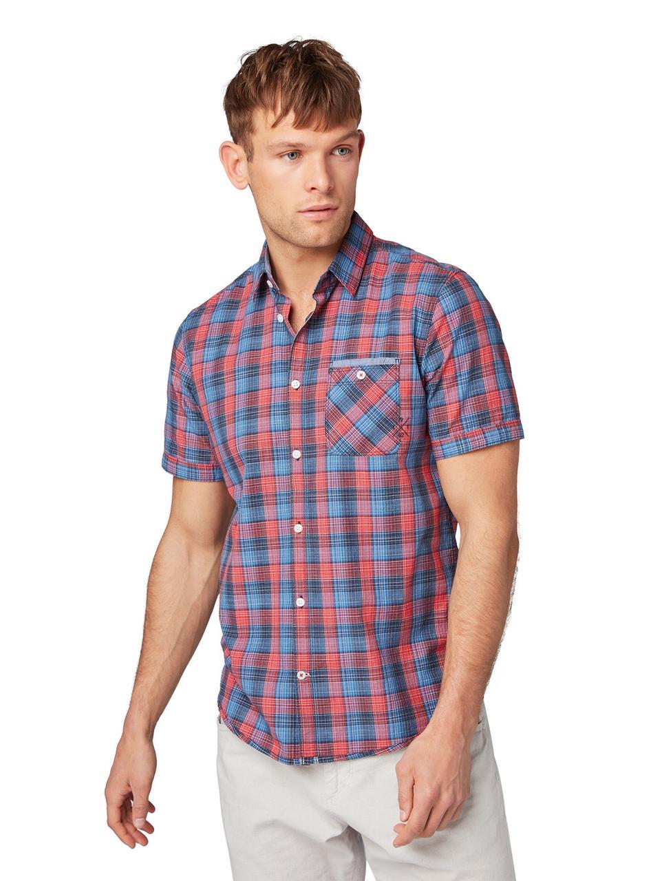 Рубашка Tom Tailor 1008183 M Красный