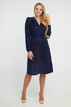 Платье Асти синее 44