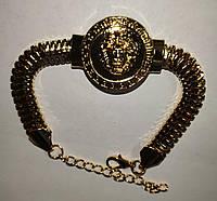 """Золотистый    браслет   """"Лев"""" от студии LadyStyle.Biz, фото 1"""
