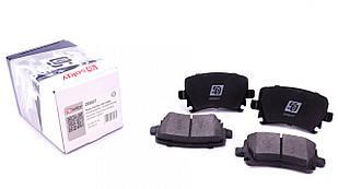 Колодки тормозные (задние) VW Caddy 04- SOLGY (Испания) 209027