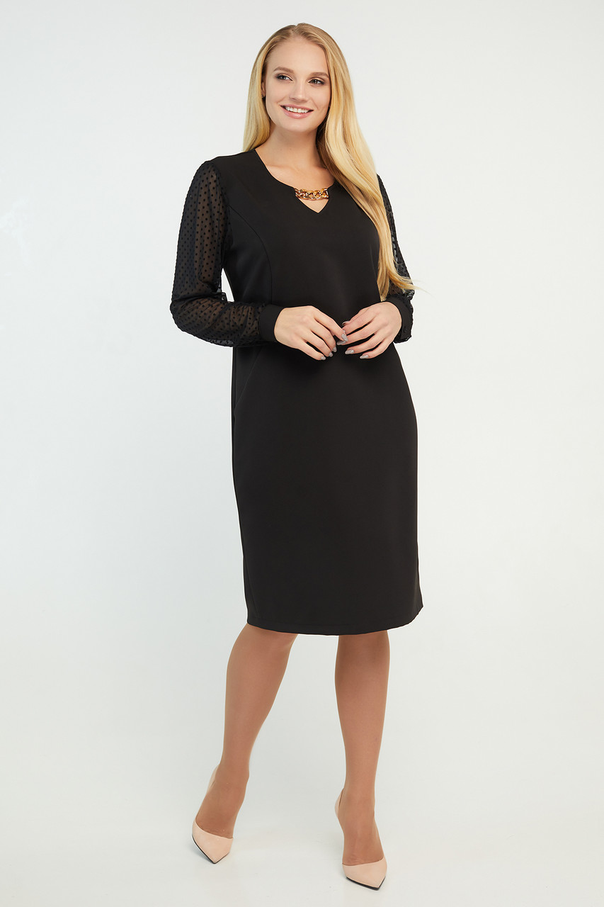 Платье Миранда черное 50