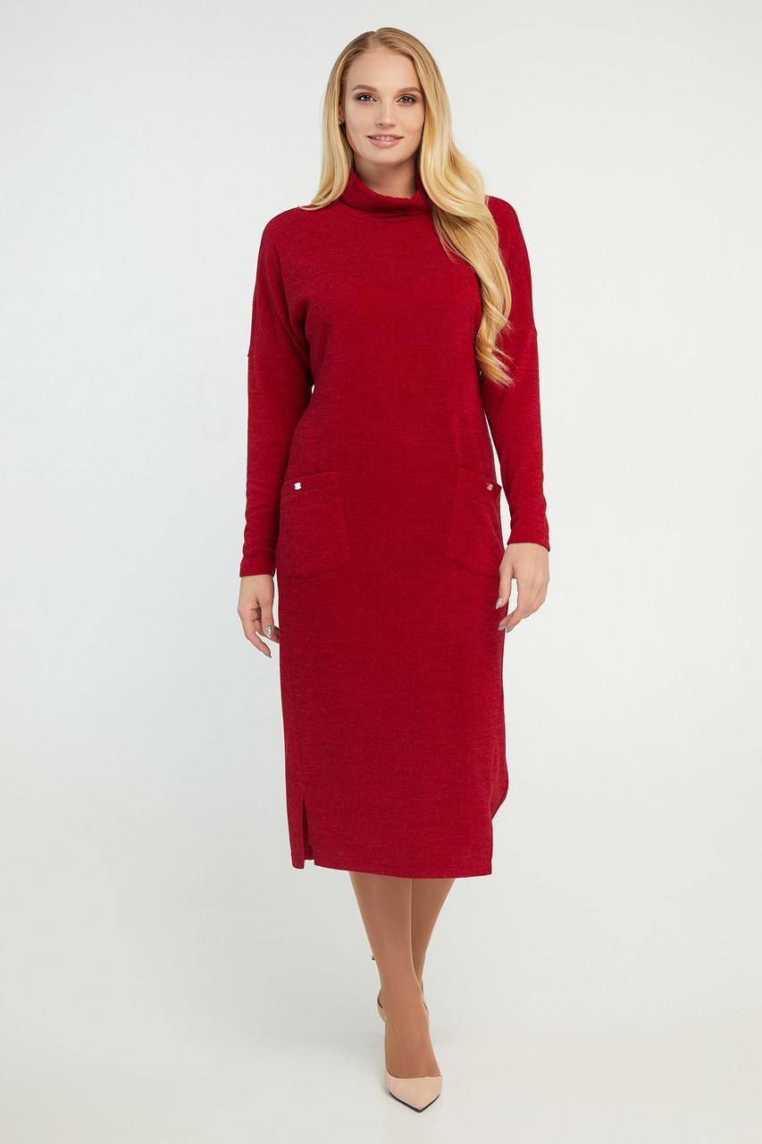 Платье Нимфа красное 48