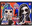 Кукла ЛОЛ ОМГ Дуэт Оригинал L.O.L. Surprise! O.M.G. Remix Rocker Boi and Punk Grrrl, фото 3