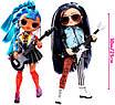 Кукла ЛОЛ ОМГ Дуэт Оригинал L.O.L. Surprise! O.M.G. Remix Rocker Boi and Punk Grrrl, фото 5