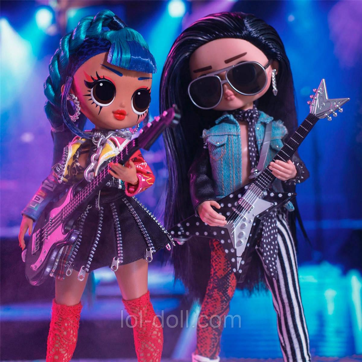 Кукла ЛОЛ ОМГ Дуэт Оригинал L.O.L. Surprise! O.M.G. Remix Rocker Boi and Punk Grrrl