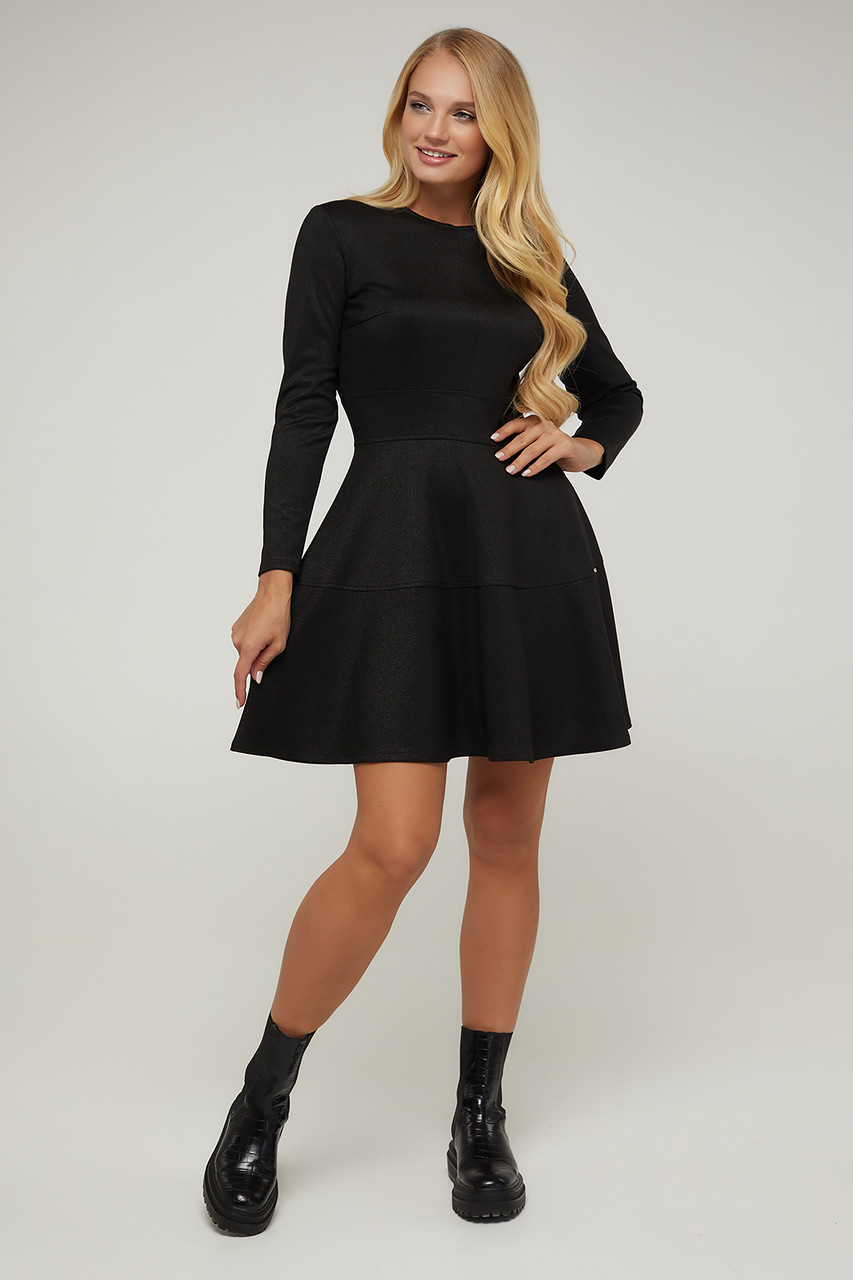 Платье черное Тая 44