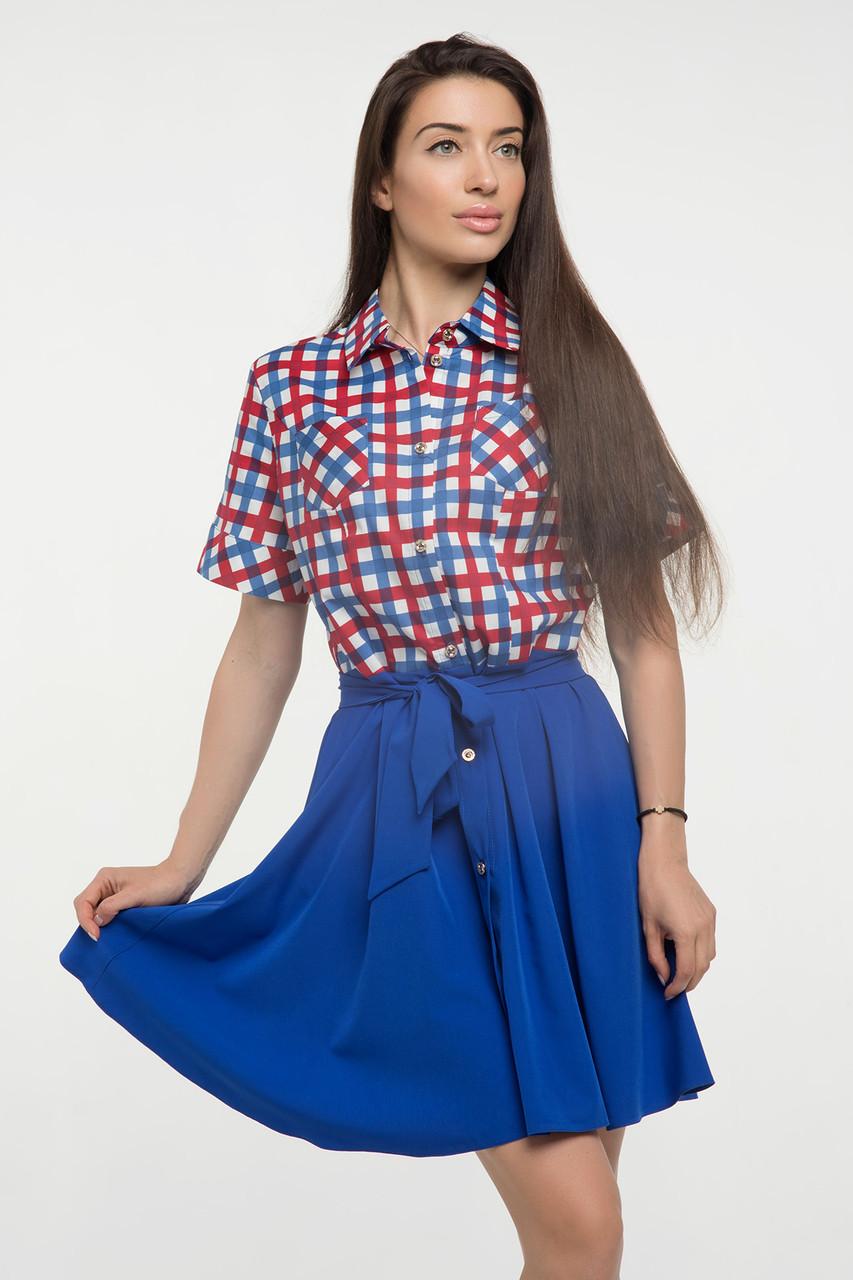 Платье ультрамарин Версаль 42