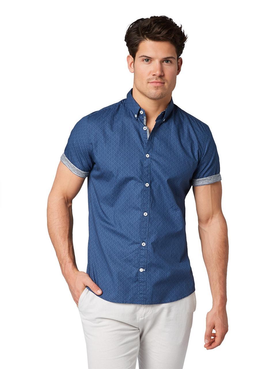 Рубашка Tom Tailor 1010075 XL Синий