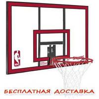 """Баскетбольный щит SPALDING NBA COMBO 44"""""""