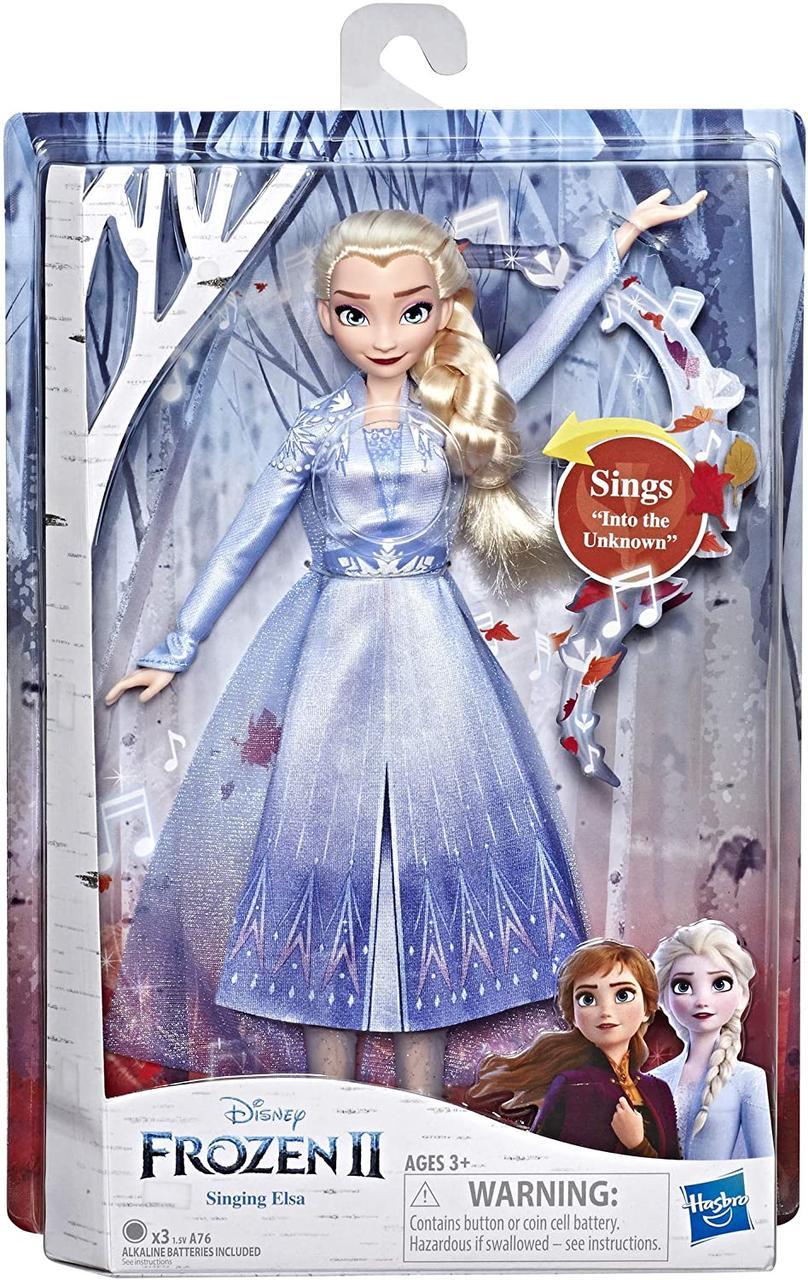 Холодное сердце 2 Поющая Эльза в светящемся платье Disney Frozen 2 Singing Elsa Musical Fashion Doll, Hasbro
