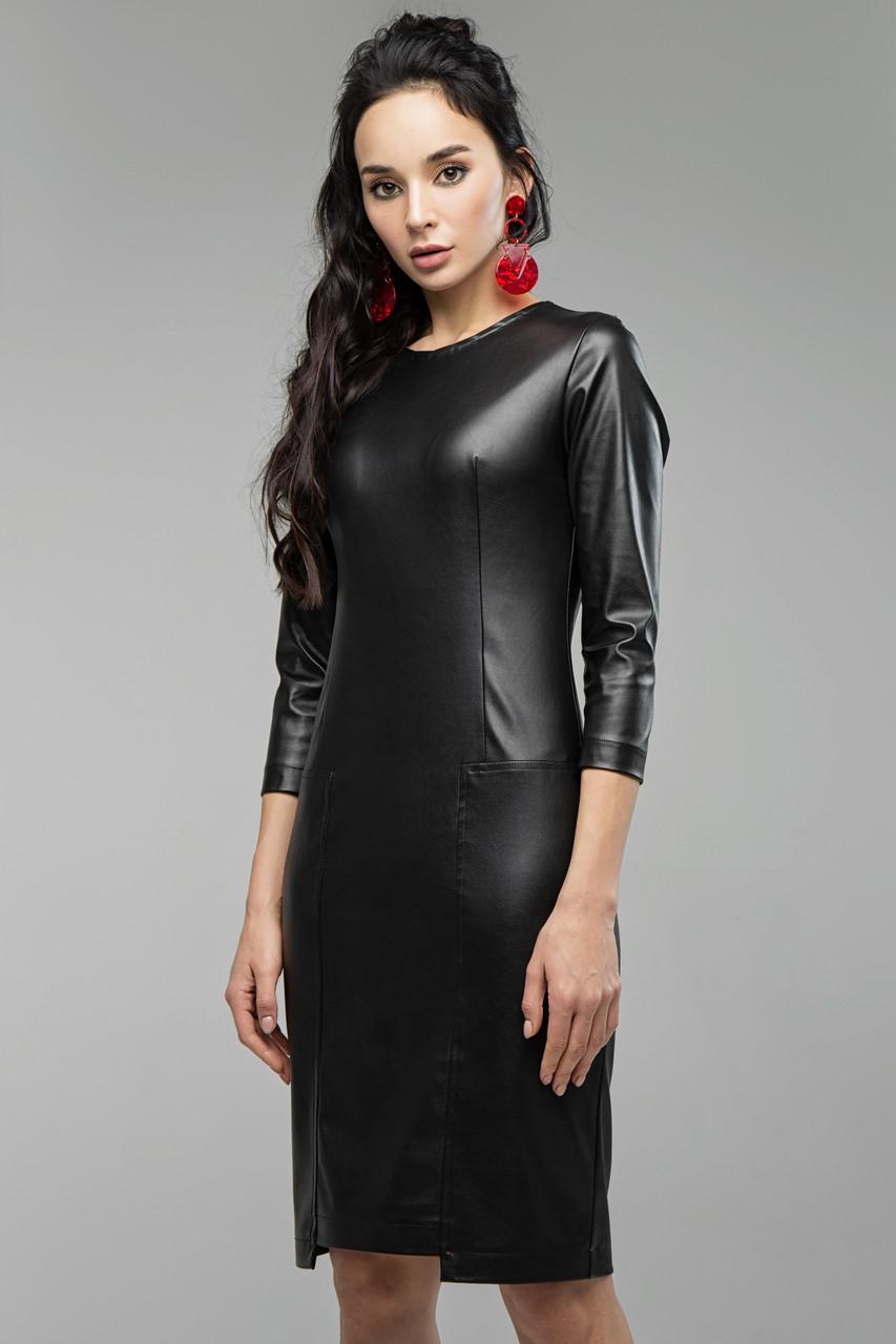 Платье черное Кейли 42