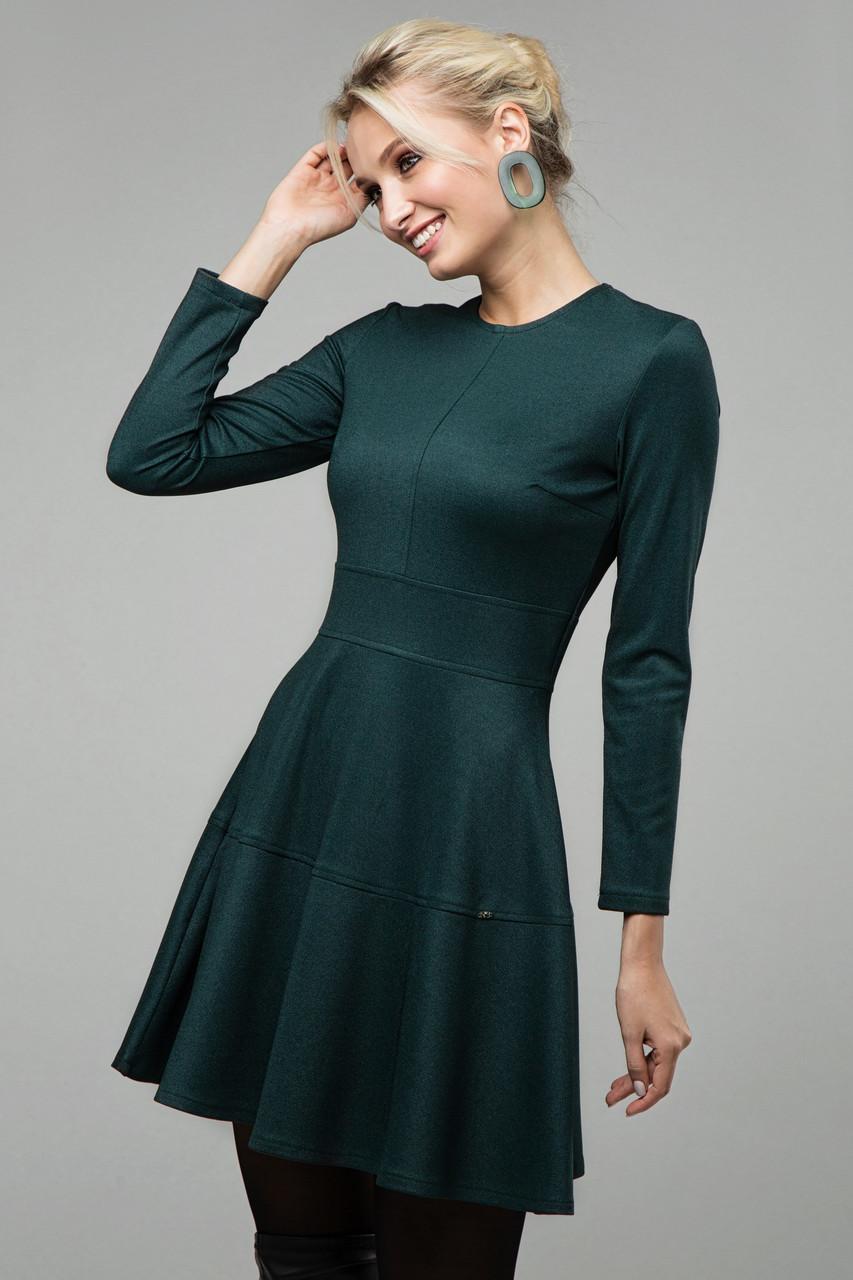 Платье изумрудное Тая 46
