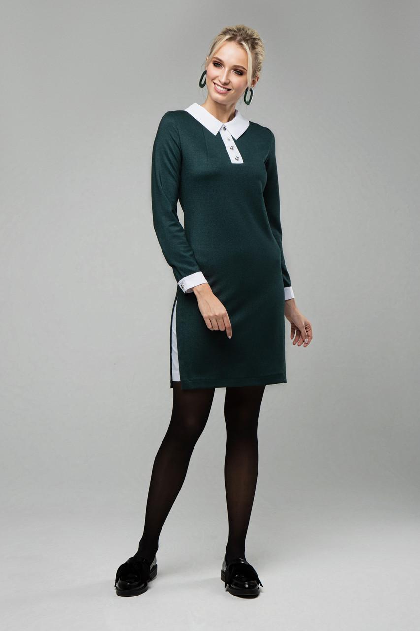 Платье изумрудное Кетти 42