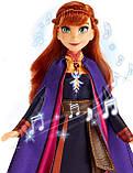 """Кукла Анна поющая """"Холодное Сердце 2"""" Disney Frozen Musical Adventure Anna Оригинал из США, фото 3"""