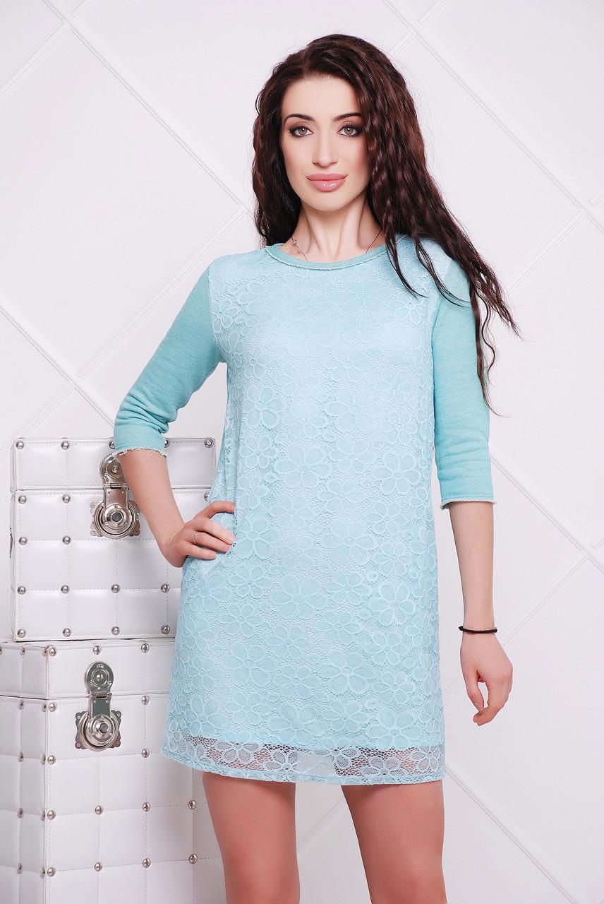 Платье мята Мэйми 44
