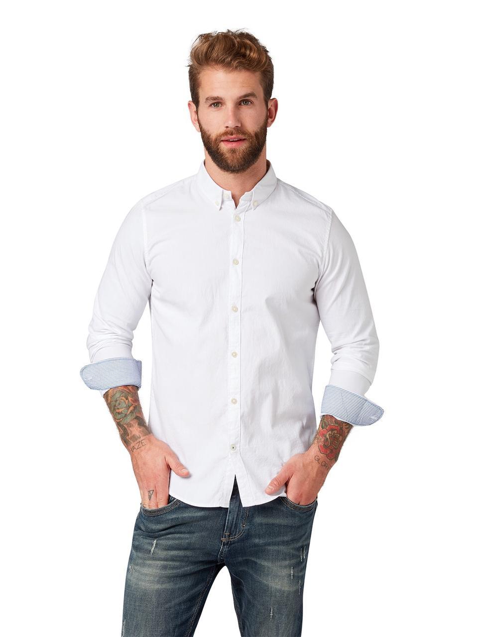 Рубашка Tom Tailor 1008320 L Белый