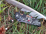 "Нож полуавтомат Browning ""Индеец и Амарок"" DA80 +паракорд, фото 2"
