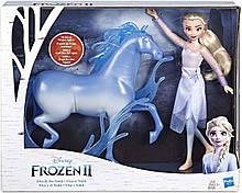 Набор Холодное Сердце 2 КуклаЭльза и Конь Нокк Frozen 2 Elsa Fashion Doll and Nokk Hasbro Оригинал из США