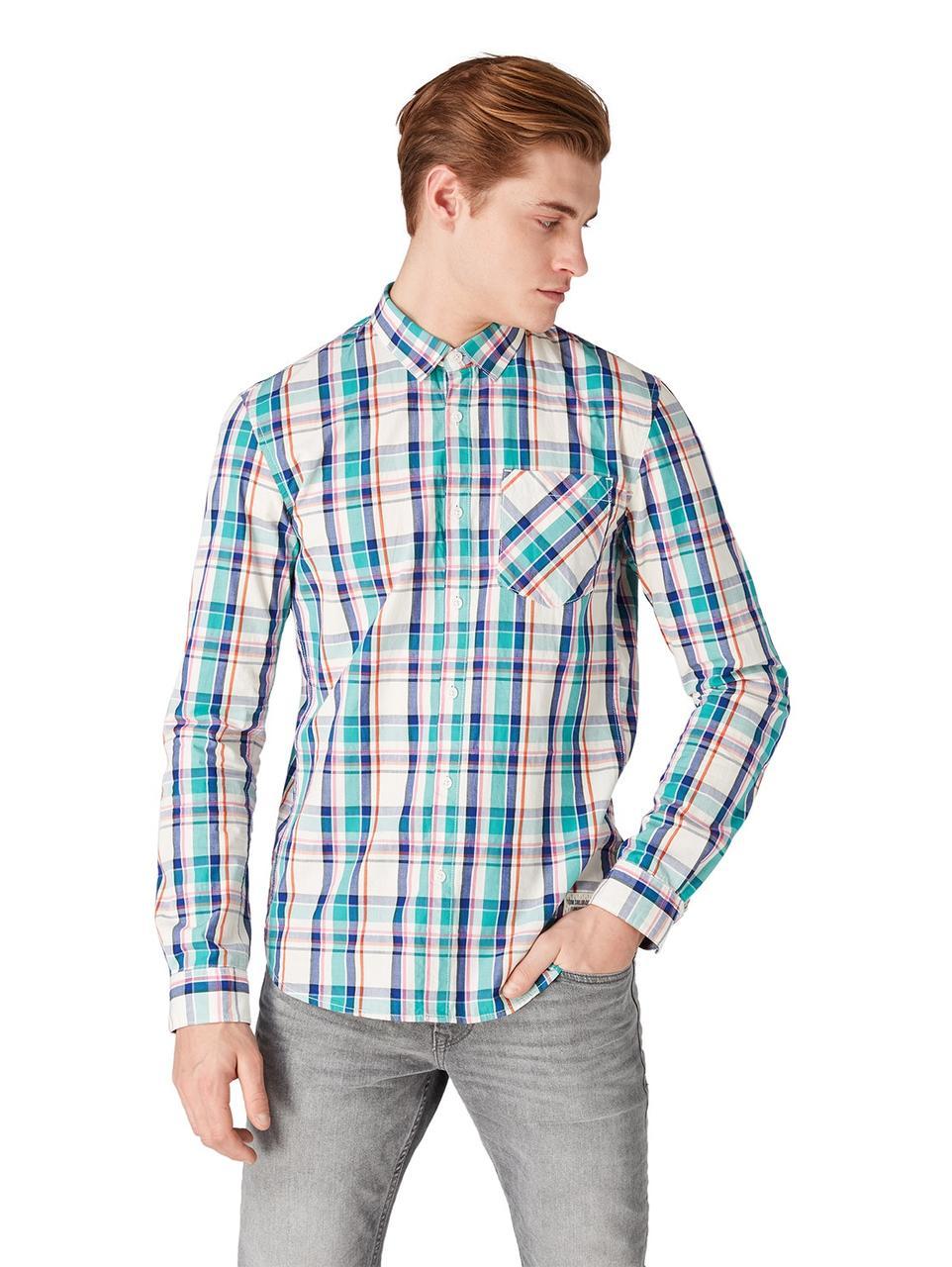 Рубашка Tom Tailor 1009163 L Зелёный